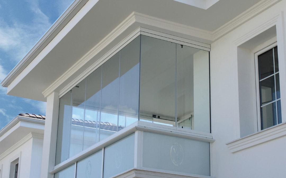 Vetrate Scorrevoli Panoramiche per coperture balconi